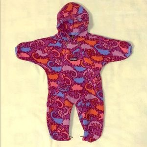 Patagonia Fleece infant suit